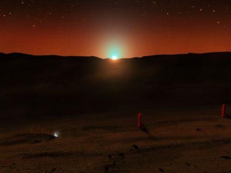 Mars' Sunset