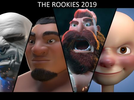 The Rookie 2019-Character modeling-Facial Rigging