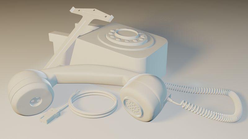 GPO746 Wallphone