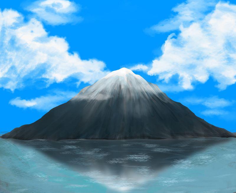 Mountain in the Sea