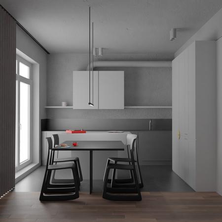 Minimalist interior
