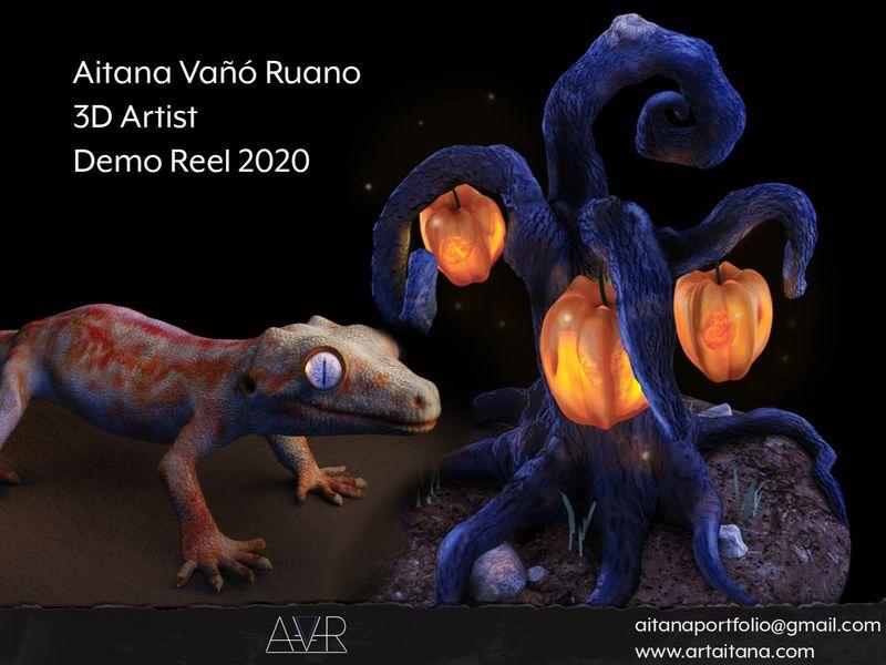 3D Artist - DEMO REEL 2020 - Aitana Vañó Ruano