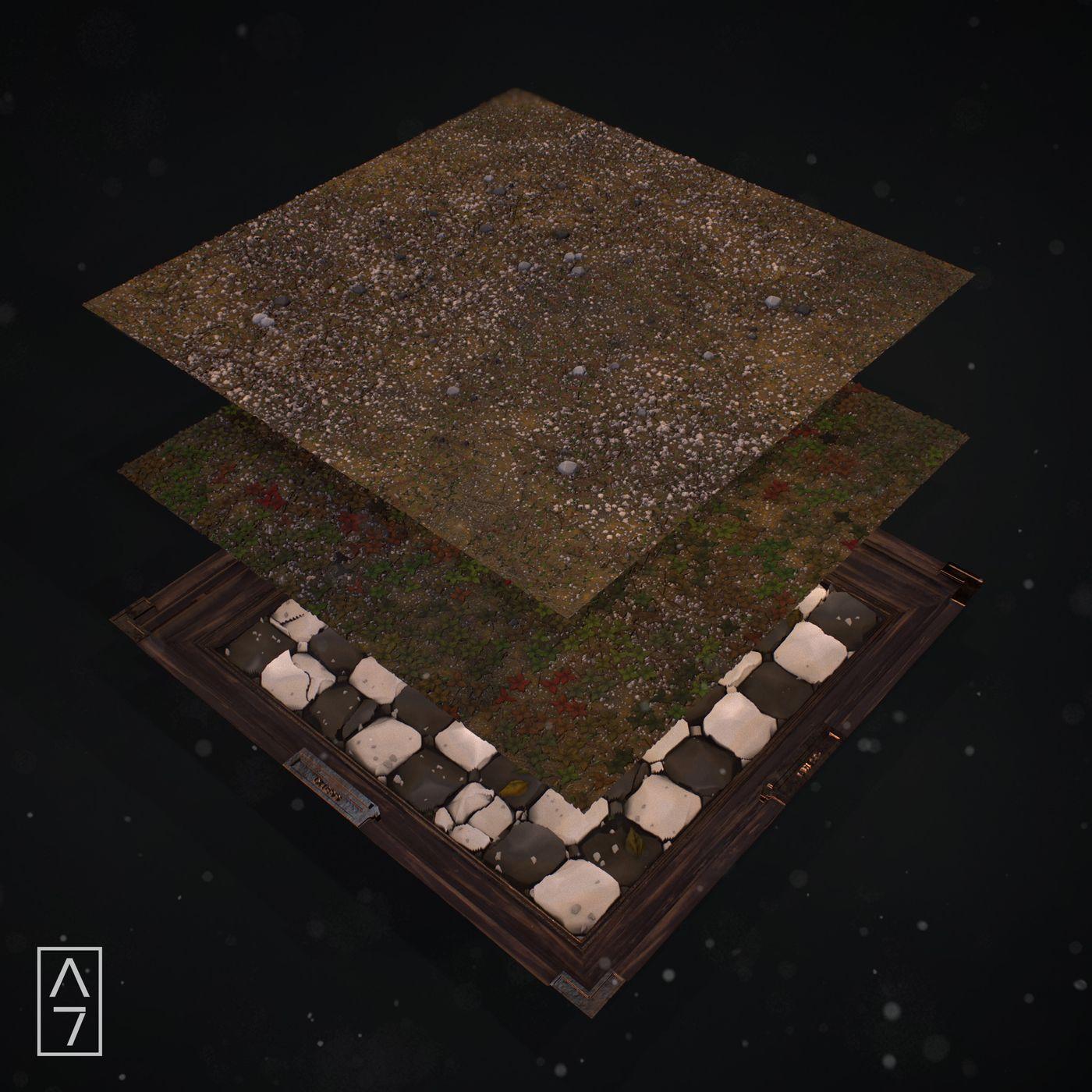 Chess Board Layers Arthurtasquin