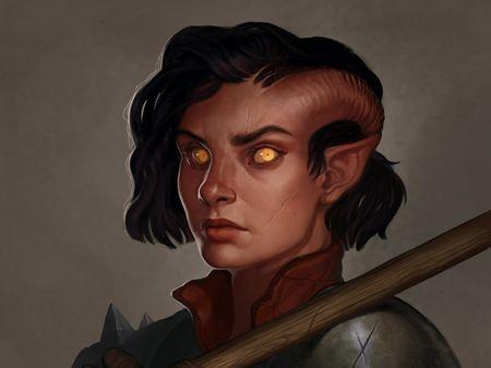 Kallista (Dungeons & Dragons Portrait II)
