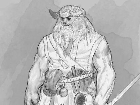 D&D Kickstarter Sketches