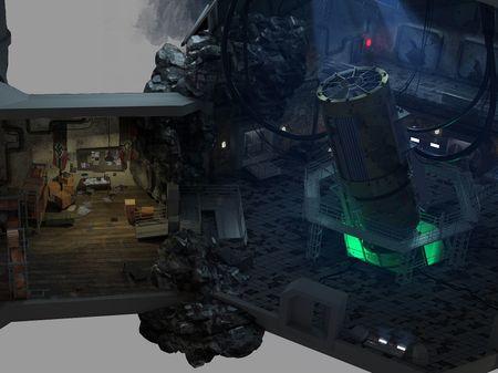 "Environment Concept Art - ""Sector 14"""