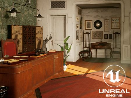 Dishonored inspired Office