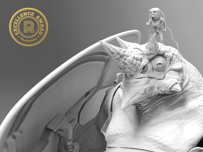 Lizardman High Resolution Sculpt