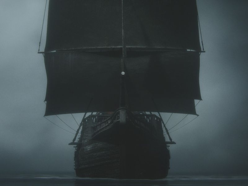 CG Sailing Vessel Scene and  Matte Painting Reel