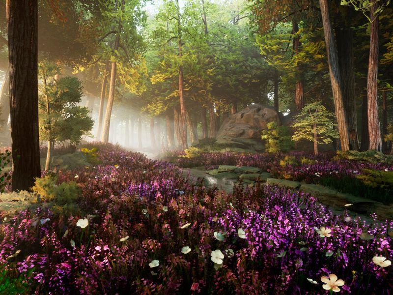 """Spring"" - 3D Environment Study"