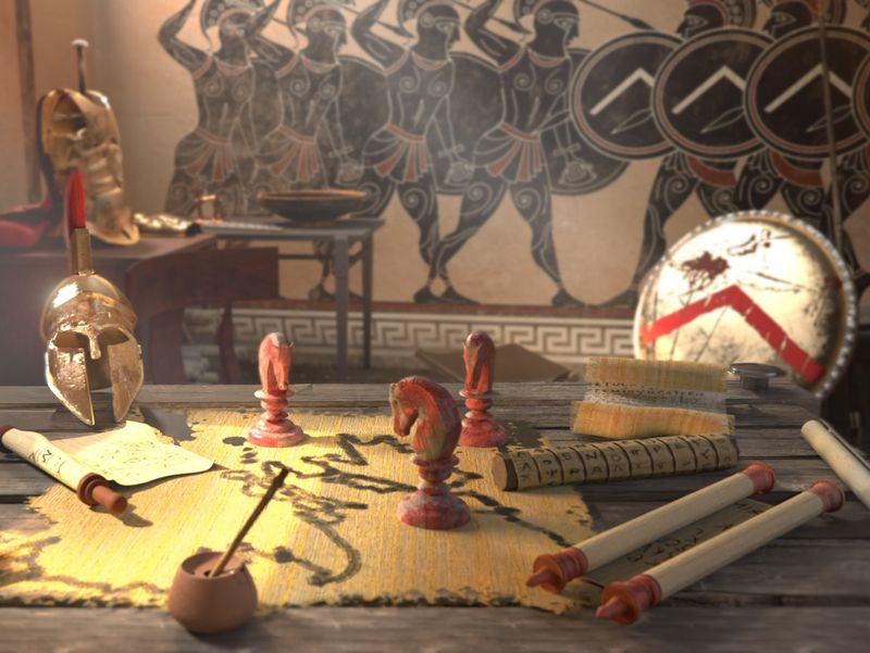 Leonidas' room
