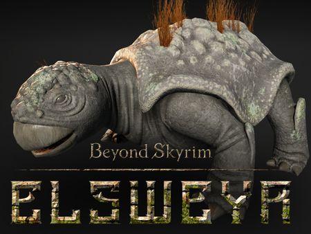 Beyond Skyrim: Elsweyr - Rock eater creature