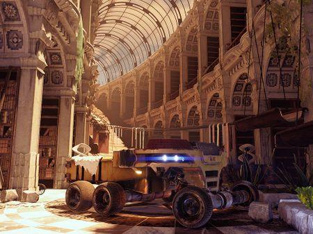 Dystopian Library