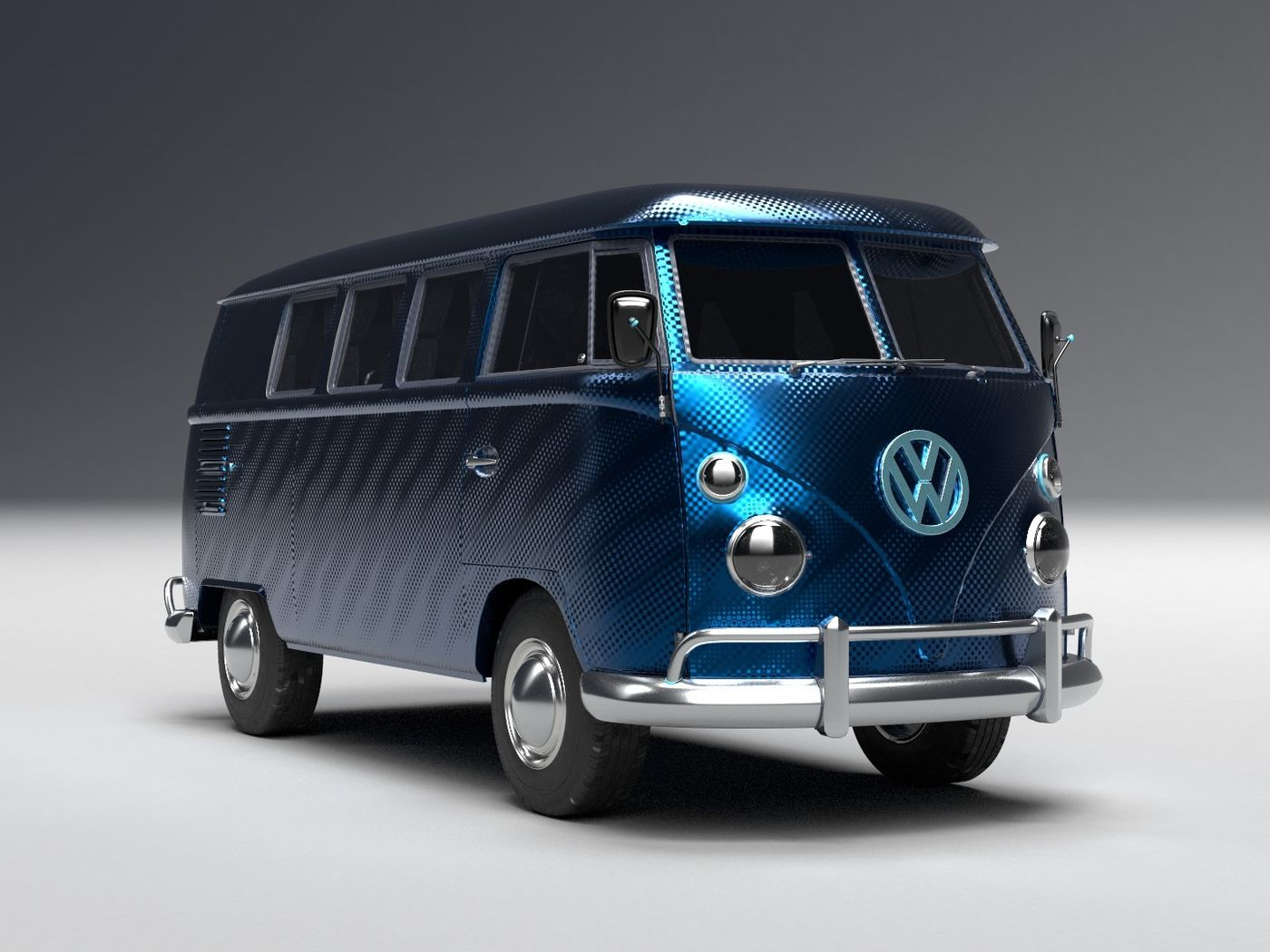 The Pantone color of the year 2020 Kombi Van