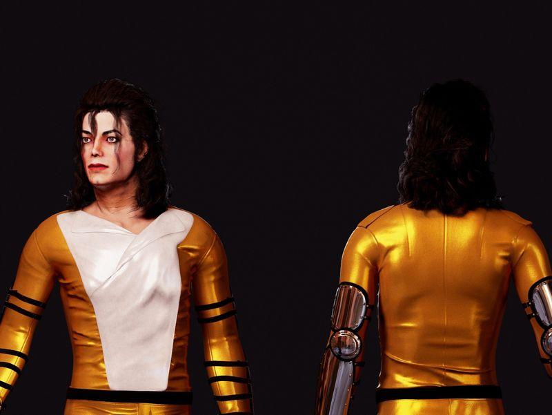 Michael Jackson 3rd costume