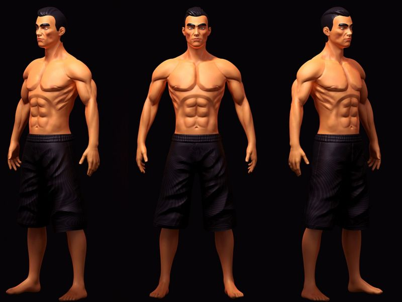 Stylized male
