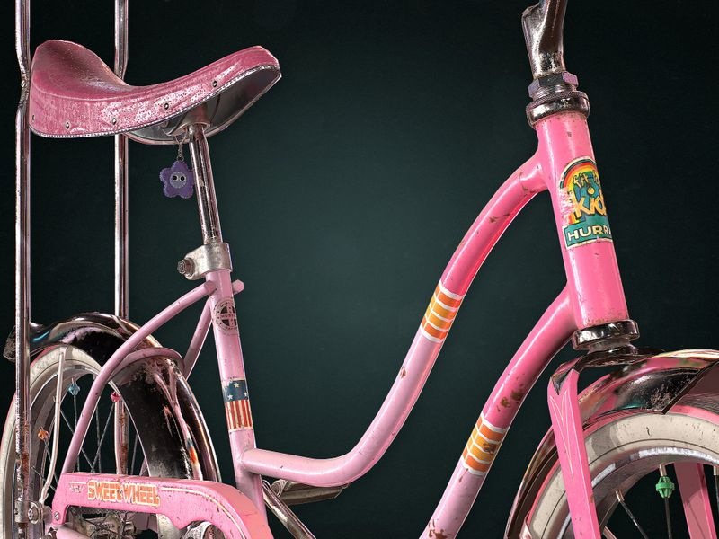 Amy's Bike | 3D Game Prop