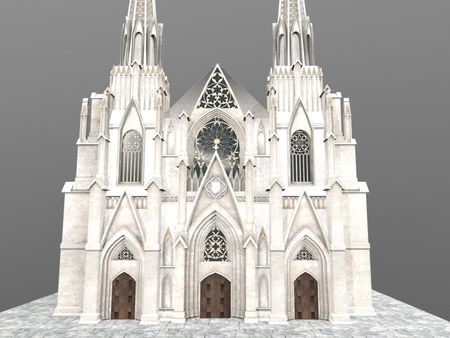 New York Cathedral Saint Patrick (Half)