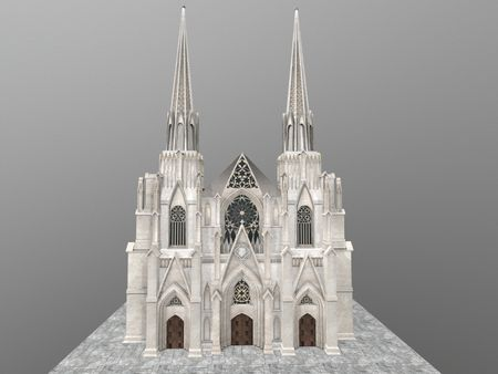 New York Cathedral Saint Patrick ( Half)