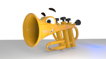 Toby the Hyperactive Trumpet