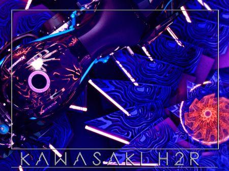 KAWASAKI H2R Texturing