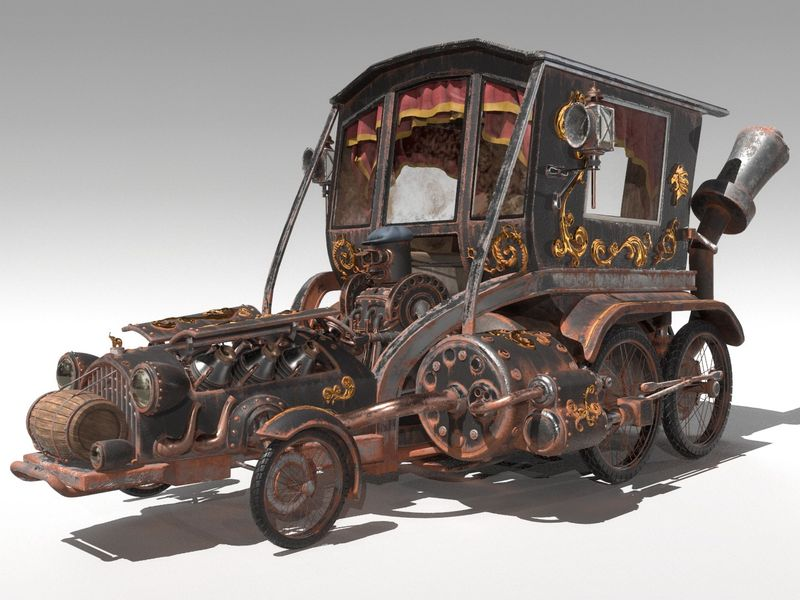Stesla Elephant Steam Engine