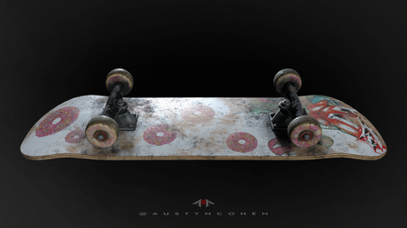 Weekly Drill Skateboard