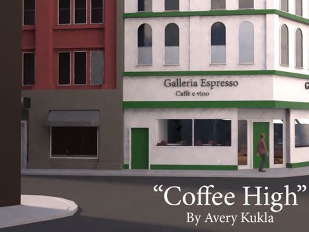 """Student Animated Film Project - """"Coffee High"""""""