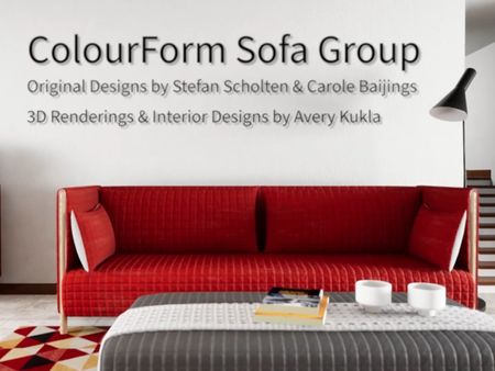 Herman Miller ColourForm Sofa Group