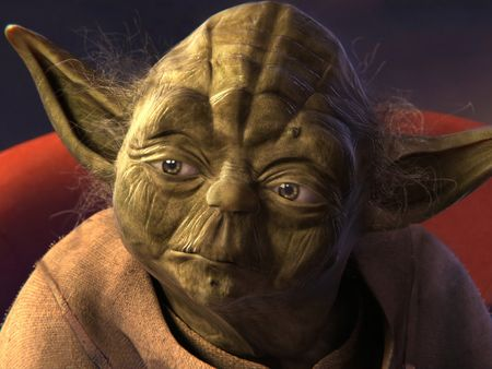 "Master Yoda from ""Star Wars: Episode 1 – The Phantom Menace"""