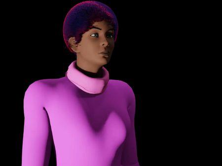 Female characters (Name: Gina)