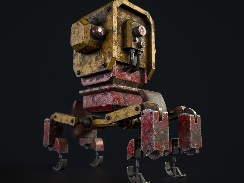 Rusty Old Bot
