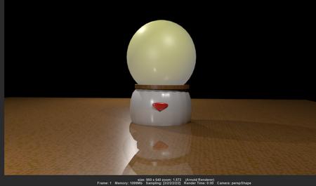 MY lamp ball