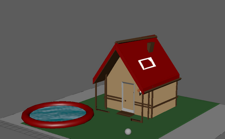 my first in maya HOME
