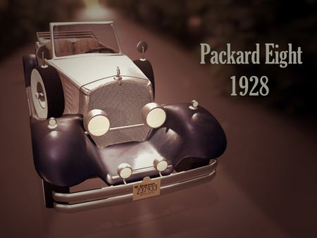 1928' Packard Eight
