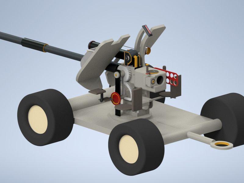 My first Project Anti tank MK 1