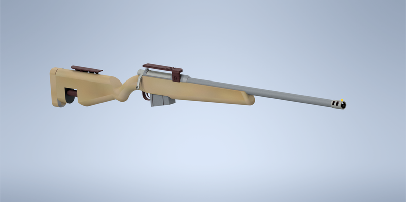 Sniper or Hunting RIfle