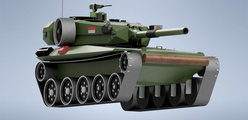 Tank MBT-01