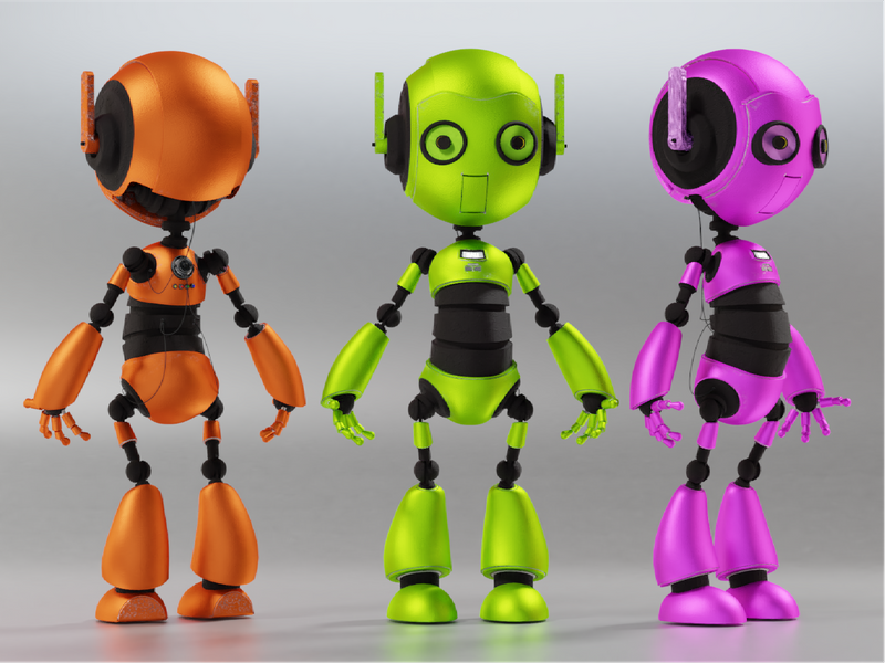 Robot free 3D Model -Download