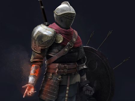 Knight of the fire