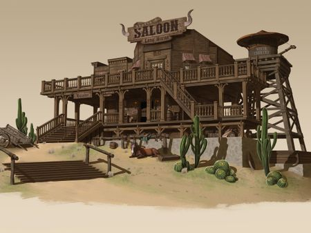 Long Horns Saloon