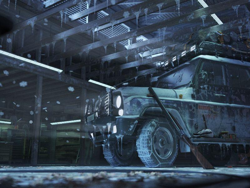 Frozen Garage