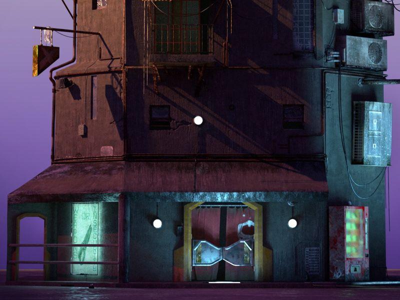 Sci-fi saloon