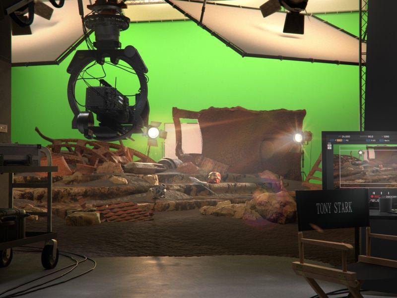 Avengers : Infinity War - Movie Set