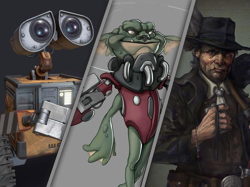 Bavo Mispelaere - Portfolio - Game Dev & Concept Art Entry