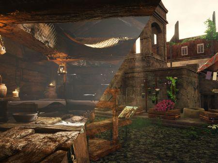 The Adventures house & Market
