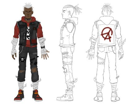 Ego Crisis: Protagonist Re-Design
