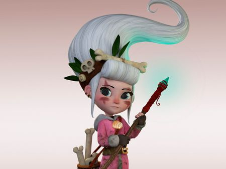 Hunter, cartoon character