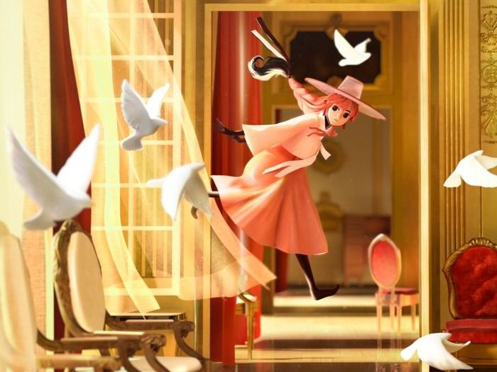 The Flamingo Witch - 3D Art