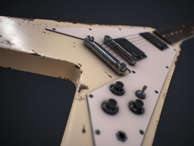 #WeeklyDrills 030 #Guitar - James Hetfield's 1976 Flying V